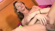 Young pornstar Elizabeth Bentley banged hard by a huge hard cock