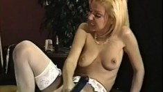 Candy and Mila get together for some advanced lesbian playtime