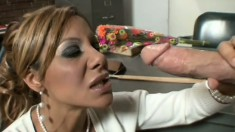 Stacked Demi Delia seduces a student and has him pounding her snatch