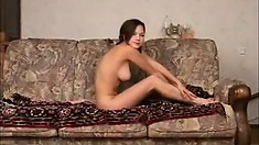Naked beauty Gisela bares every inch of her smoking hot body