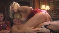 Sexy Slim Blonde Cutie Hannah Harper Enjoys Anal Sex In A Public Place