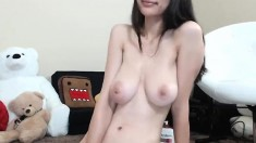 Big Boobs Brunette Fingering Toying