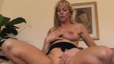 Nicole Moore gives some deep head to a lucky guy before he bones her