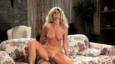 Sexy housewife India Summer is in need of a hard cock banging her twat