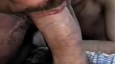 Tony and Cory get things started and are joined by a third in hot gay sex