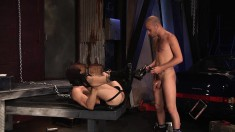 Masked hunk loves to gets his ass stretched and nailed with a cock