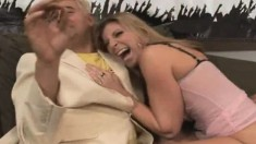 Voluptuous Blonde Cougar Sara Jay Knows Exactly How To Please A Cock