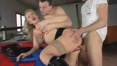 Brutal Anal Fucking For A Big Tit Milf