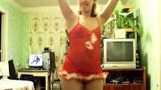 Amateur Milf Striptease