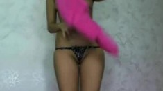 Very Shy Amateur Teen Striptease