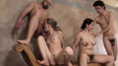 Group Hot Sex Squirting
