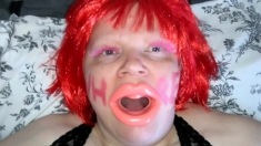 Ssbbw Dumb Gagging Slut Orally Humiliated