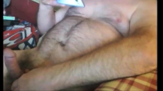 Mature man cumming