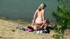 Hidden beach shoot